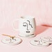 Sass & Belle Abstract Face Mug - Image 2
