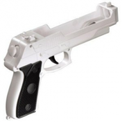 Datel Precision FX Pistol Gun With Built In Nunchuck Wii