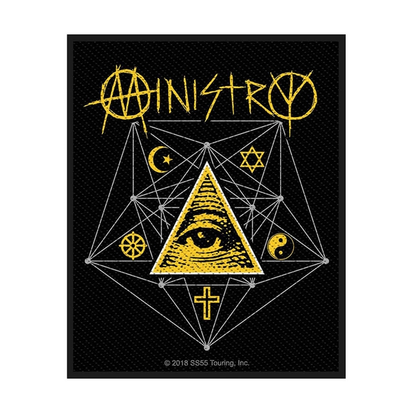 Ministry - All Seeing Eye Standard Patch