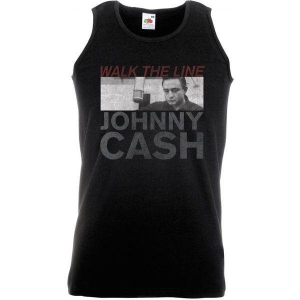 Johnny Cash Studio Shot Men's X-Large T-Shirt - Black