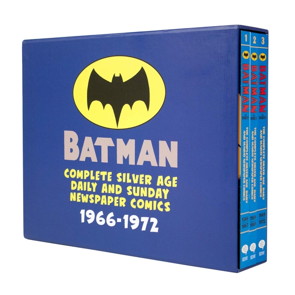 Batman Silver Age Newspaper Comics Slipcase Edition (Batman Newspaper Comics) Paperback