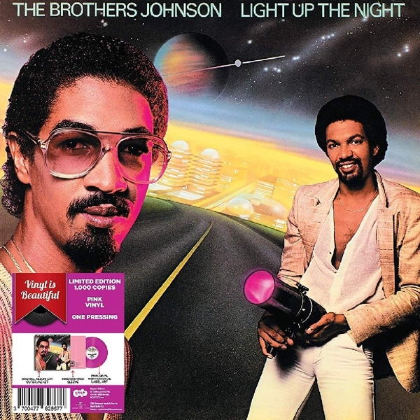 Brothers Johnson - Light Up The Night Pink  Vinyl