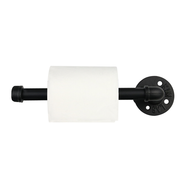 Iron Pipe Toilet Paper Holder | M&W
