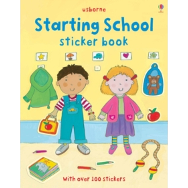 Starting School Sticker Book by Felicity Brooks (Paperback, 2011)