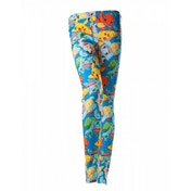Pokemon Women's All-Over Fighting Pokemon Characters Large Print Legging