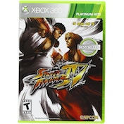 Street Fighter IV Xbox 360 Game