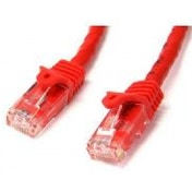 StarTech.com Red Gigabit Snagless RJ45 UTP Cat6 Patch Cable Patch Cord (3.05m)
