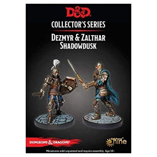 Dungeons & Dragons Collector's Series Dungeon of the Mad Mage Dezmyr / Zathar Miniature Set