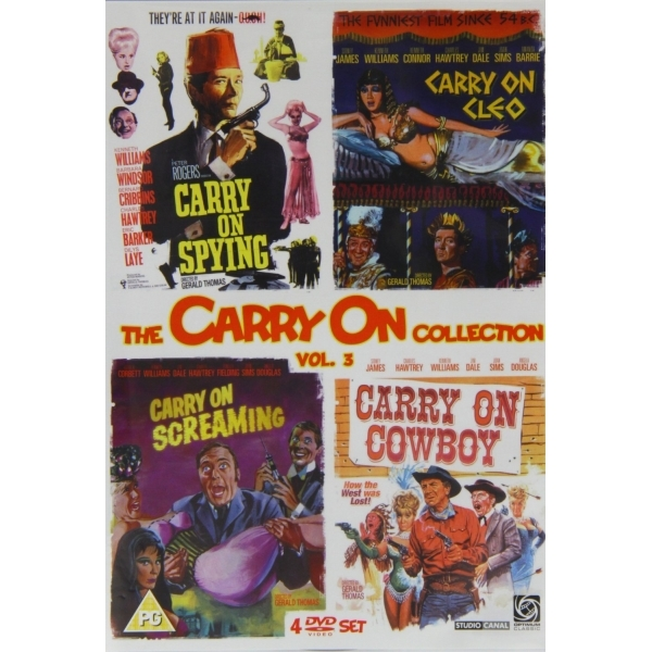 Carry On Collection Vol.3 DVD
