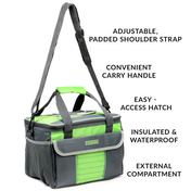 Large 16L Insulated Cooler Tote Bag | M&W