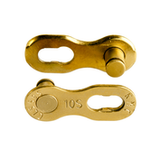 KMC 9 Speed Missing Link 6.6mm Gold (x2)
