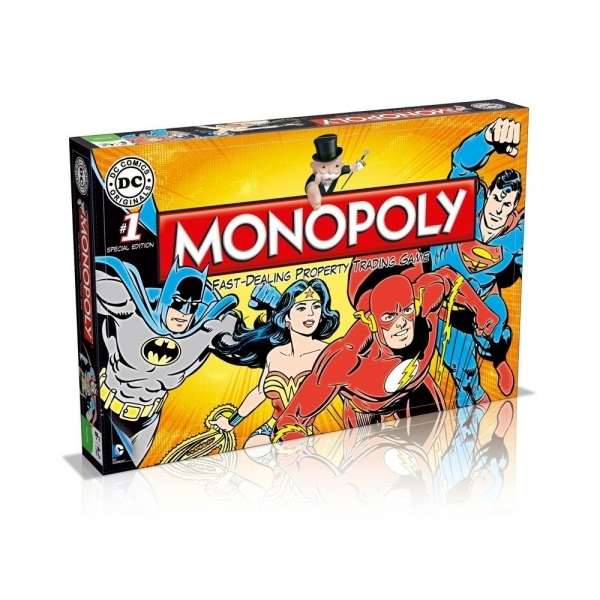 Ex-Display DC Comics Monopoly Board Game Used - Like New - Image 1