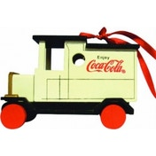 Coca Cola Wooden Truck Christmas Tree Decoration