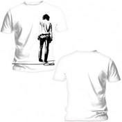 The Doors Solitary Mens White T Shirt: Small