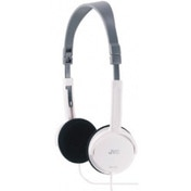 JVC Foldable Light Weight Stereo Headphones White