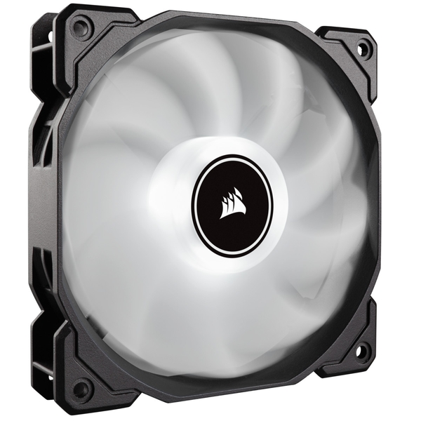 Corsair AF High Airflow Low Noise White LED Cooling Fan - 120mm - Triple Pack