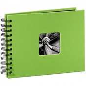 Fine Art Spiral Bound Album 24x17cm 50 black pages Kiwi