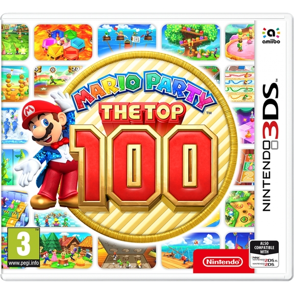 Mario Party The Top 100 3DS Game