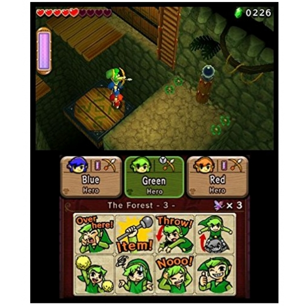 The Legend Of Zelda Triforce Heroes 3DS Game - Image 2