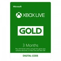 Xbox Live Gold 3 Months Membership Card Xbox 360 and Xbox One Digital Download