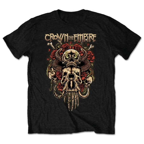 Crown The Empire - Sacrifice Unisex Small T-Shirt - Black