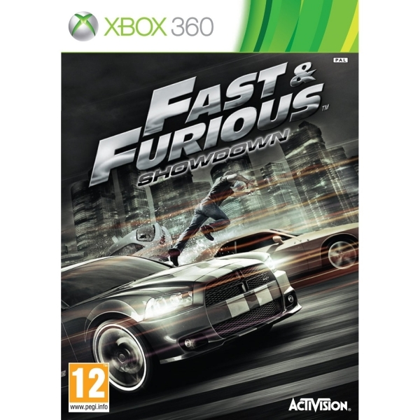 Fast and Furious Showdown Game Xbox 360