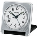 Seiko Travel Alarm Clock Silver