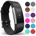 Yousave Fitbit Charge 2 Strap Single (Large) - Black