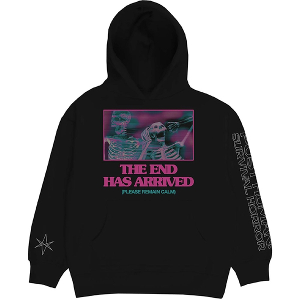 Bring Me The Horizon - The End Unisex Large Hoodie - Black