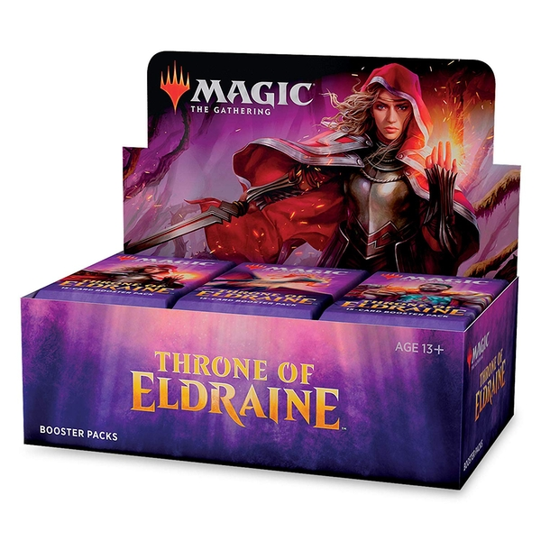 Magic The Gathering: Throne of Eldraine Booster Box (36 Packs)