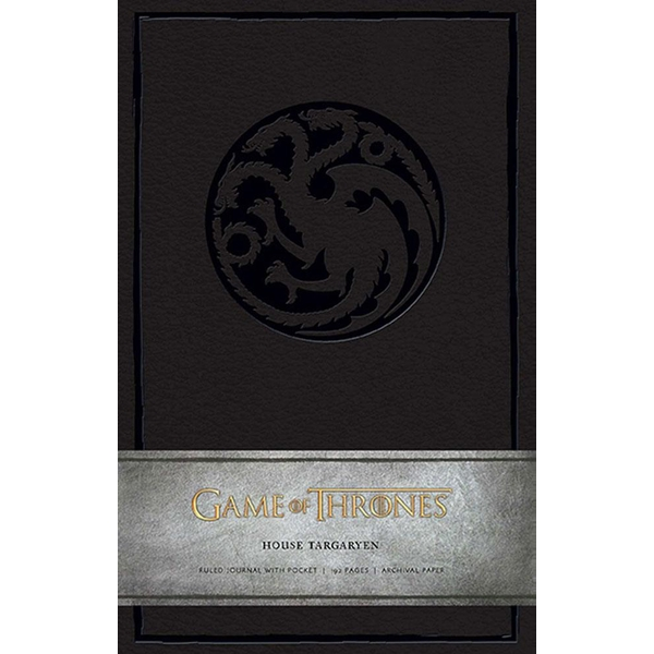 House Targaryen (Game of Thrones) Hardcover Ruled Journal - Image 1