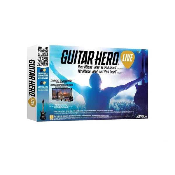 Guitar Hero Live with Guitar Controller iPhone, iPad, iPod Touch [French and German]