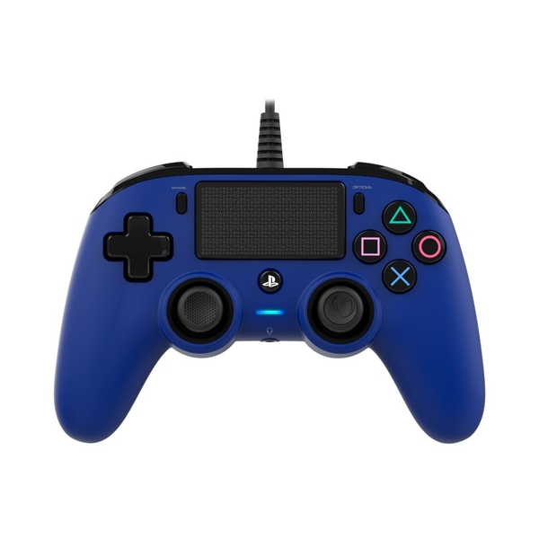 Image of Nacon Compact Wired Controller (Blue) PS4