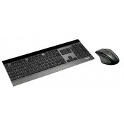 Rapoo 8900P 5GHz Wireless Ultra-slim Desktop Combo Set Black UK Layout