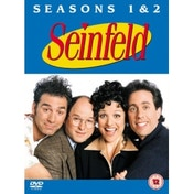 Seinfeld Seasons 1 and 2 DVD