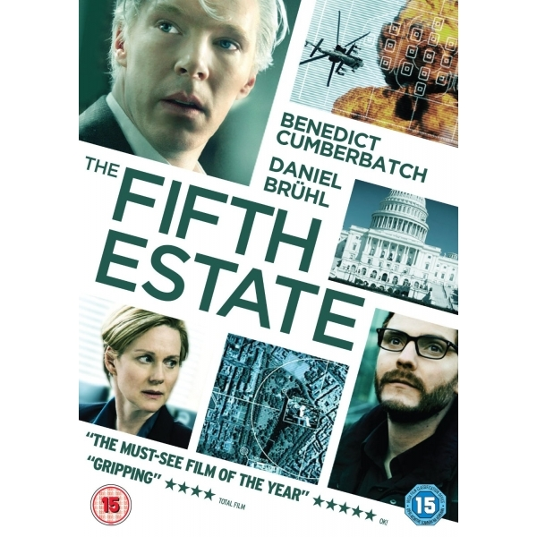 The Fifth Estate DVD