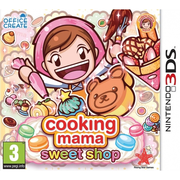 Cooking Mama Sweet Shop 3DS Game - Image 1