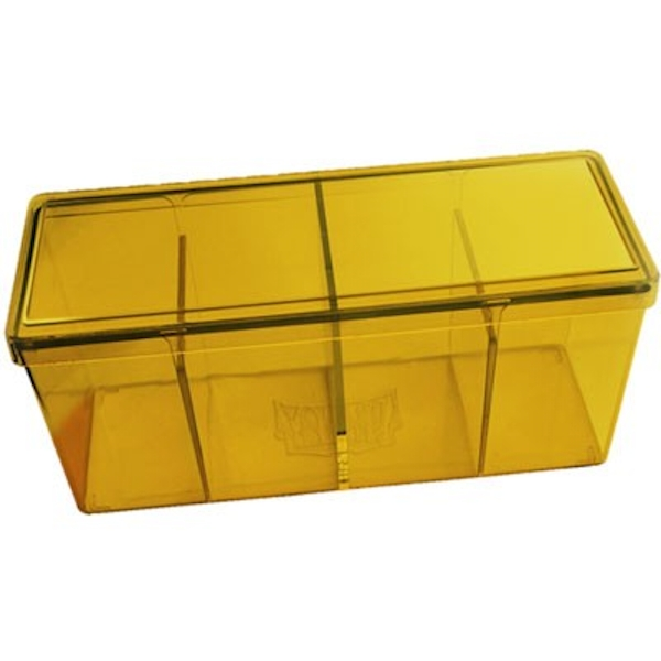 Dragon Shield Storage Box With 4 compartments - Yellow