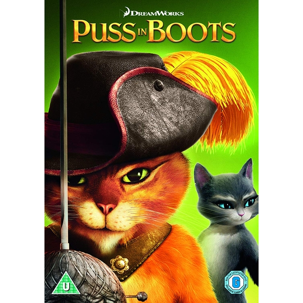 Puss In Boots (2018 Artwork Refresh) DVD