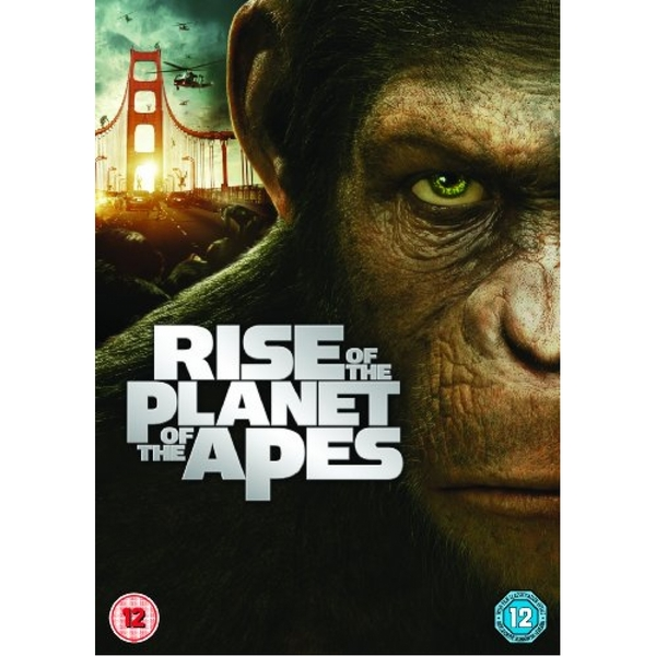 Rise of the Planet of the Apes DVD (2011)