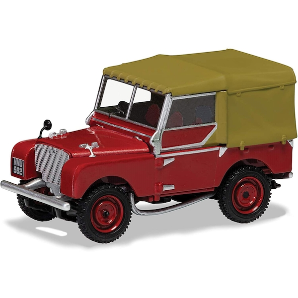 Corgi Land Rover Series 1 80 Inch Poppy Red Diecast Model