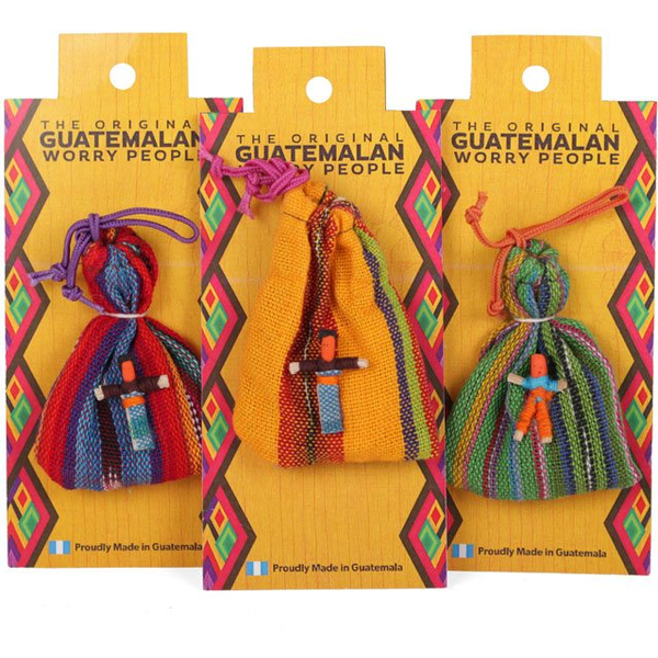 Worry Dolls In Bag