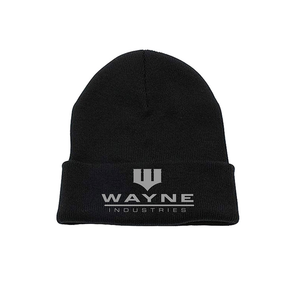 Batman - Wayne Industries Beanie - Black