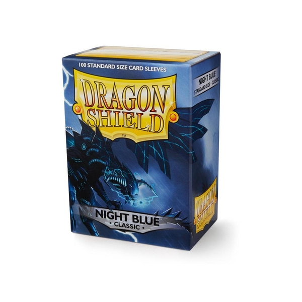Dragon Shield Classic - Night Blue 100 Sleeves (10 Packs)