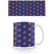 DC Originals Superman Logo Pattern Mug
