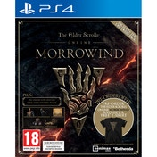 The Elder Scrolls Online Morrowind PS4 Game (Discovery Pack DLC) + T-Shirt