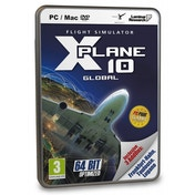 X-Plane 10 (Global 64-bit) PC & MAC Game (with Frankfurt-Hahn, Toulouse and Lugano DLC)