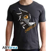 Overwatch - Tracer Men's Large T-Shirt - Grey
