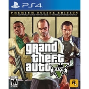 Grand Theft Auto V Premium Online Edition PS4 Game