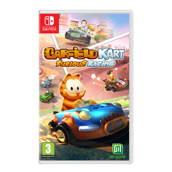 Garfield Kart Furious Racing Nintendo Switch Game
